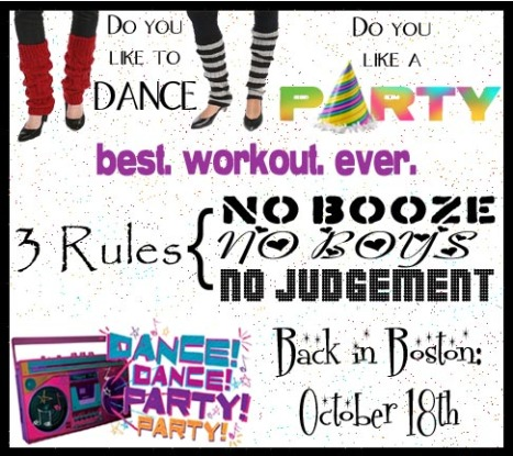 Dance. Party. Workout. Fun.